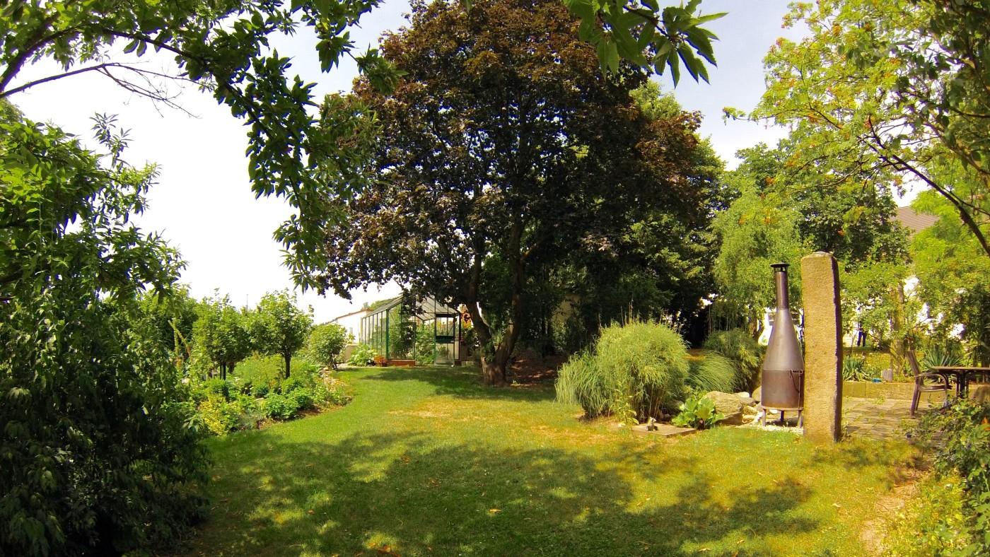 Ferienwohnungen Garten mit Grill